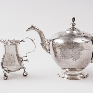 Tea set, John Coburn