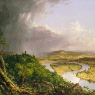 Thomas Cole's The Oxbow: Manifesto for American Art, Metropolitan Museum of Art, New York