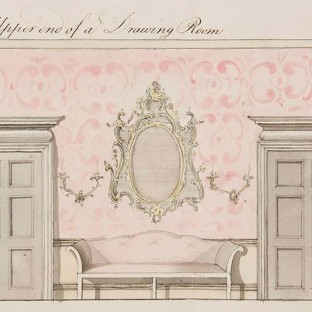 The Upper End of a Drawing Room, attributed to William Gomm