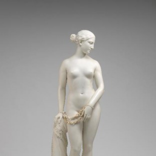 Hiram Powers The Greek Slave (1841-1843) Marble, 66 inches