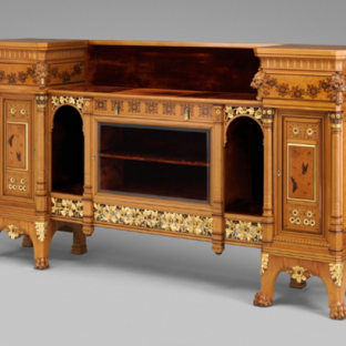 Cabinet, Herter Brothers (German, active New York, 1864-1906), ca. 1878-80. The Metropolitan Museum of Art, Promised Gift of Barrie A. and Deedee Wigmore