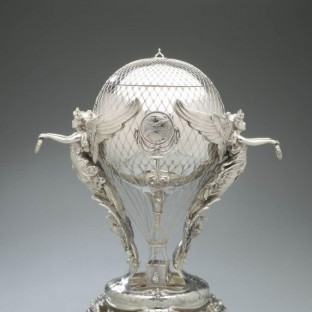 Aeronautical trophy retailed by Black, Starr & Frost (active 1874-1929), New York City, 1907