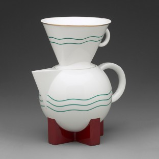 Michael Graves, The Big Dripper Coffeepot and Filter, 1987