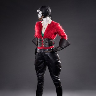 Motorcycling Ensemble, 1930s. FIDM Museum Collection