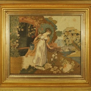 Harriet Cutter (1800-1863), Lily and Rose,