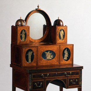 Lady's writing desk, Baltimore, ca. 1795–1810
