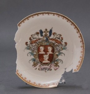 Saucer with the Arms of Fauntleroy