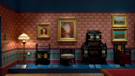 "Gallery view of ""Aesthetic Splendors: Highlights from the Gift of Barrie and Deedee Wigmore,"" The Metropolitan Museum of Art"