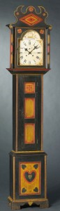 Tall Clock. SW Virginia or East Tennessee, ca. 1820.  Private Collection.