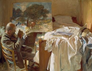 John Singer Sargent, An Artist in His Studio