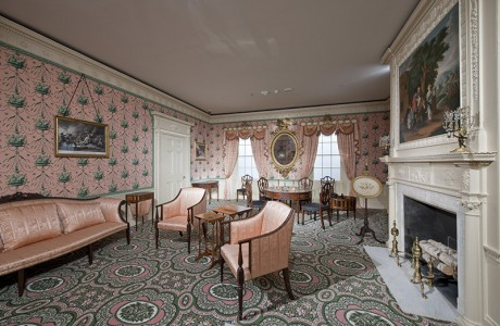 Oak Hill Parlor Period Room