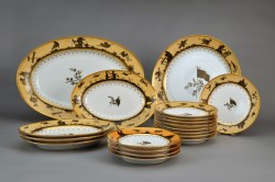 Partial Dinner Service, Dihl and Guerhard, Paris, 1800–15