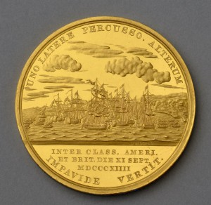 Congressional Medal of Honor commemorating Stephen Cassin, ca. 1815