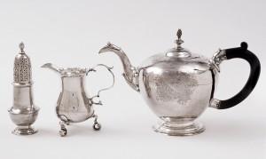 Tea set, John Coburn