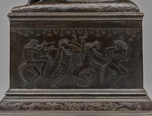 Paul Manship, Centaur and Dryad (detail of base)