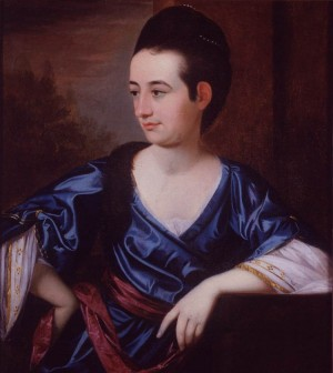 Portrait of Rachel Moore Allston by Henry Benbridge