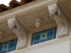 Cherubs on Casa Grand by Julia Morgan