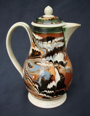 English baluster form cream jug ca. 1780