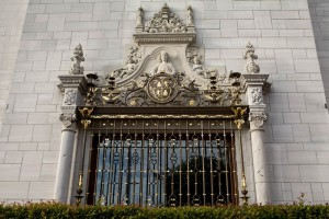 Hearst Castle wrought-iron grille by Julia Morgan