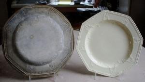Spode octagonal plate mold