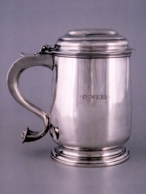 Tankard by William Wilkings