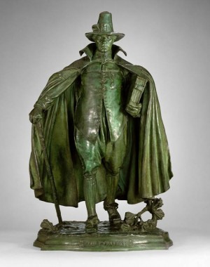The Puritan by Augustus Saint-Gaudens