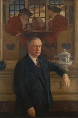 Portrait of Francis P. Garvan (1875-1937) | Yale University Art