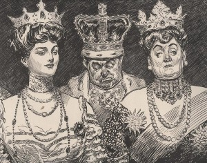 """At the Opera,"" Charles Dana Gibson, 1904. Private Collection."