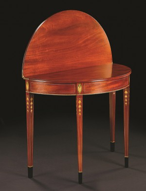 Baltimore Card table, Steve Latta