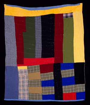 African-American quilt made by Alberta Miller, Dallas County, Alabama, 1974