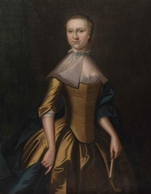 Portrait of Grace Peel, by Benjamin West