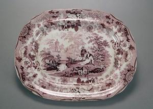 """""""Bride of Lammermoor"""" platter"""