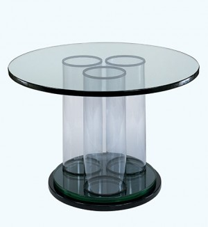 Table, ca. 1938, glass by Pittsburgh Plate Glass Co.