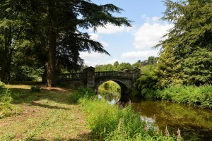 James Paine's Roman Bridge of 1770 in Capability Brown's Temple Wood