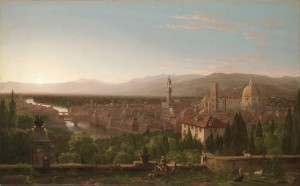 Thomas Cole, View of Florence, 1837, Cleveland Museum of Art