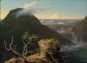 Thomas Cole, View of the Round-Top in the Catskill Mountains, 1827, Museum of Fine Arts, Boston