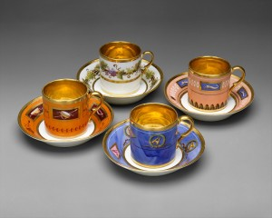 Harlequin Tea Set, Paris, France