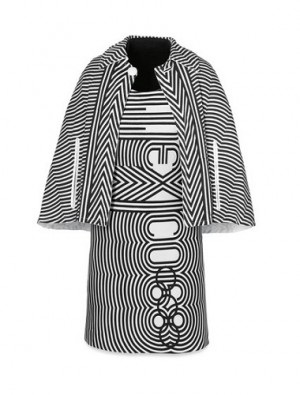 Edecán Dress and Cape from the XIX Olympics