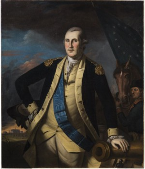 George Washington after the Battle of Princeton by Charles Willson Peale, 1780 (Courtesy, Mount Vernon Ladies' Association)