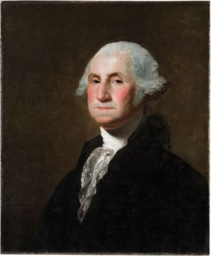 George Washington by Gilbert Stuart, c. 1798 (Courtesy, Mount Vernon Ladies' Association)