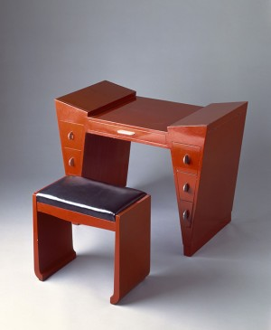 Dressing Table and Bench, c. 1929. After Léon Jallot