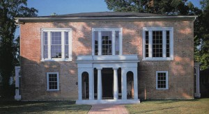 Facade of Pope Villa, Lexington, KY