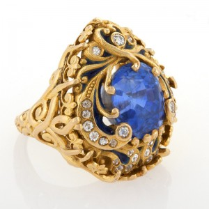 Marcus Sapphire Ring