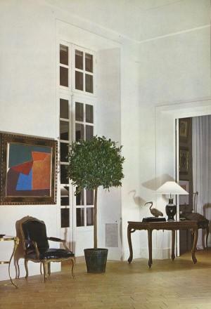 Roger Vivier's salon, Paris, France