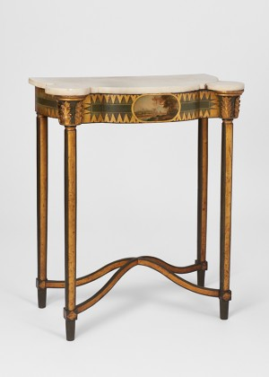 Pier table with marble top, Baltimore, 1810-1815
