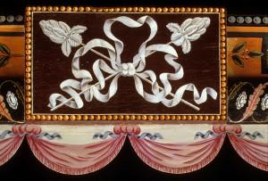 Cornice box (detail), Baltimore, 1815. Made by Hugh Finlay (1781-1831) and John Finlay (1777-1851)