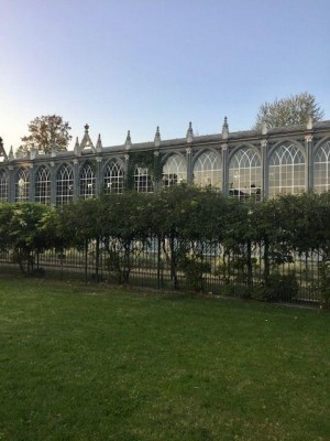 Glass conservatory, Royal Palace of Racconigi, Cuneo