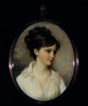 Miniature of Eliza Izard Pinckney
