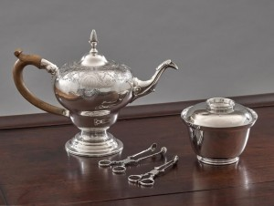 Silver Tea and Sugar Service