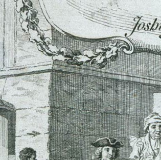 "Detail from ""A map of the most inhabited part of Virginia"""